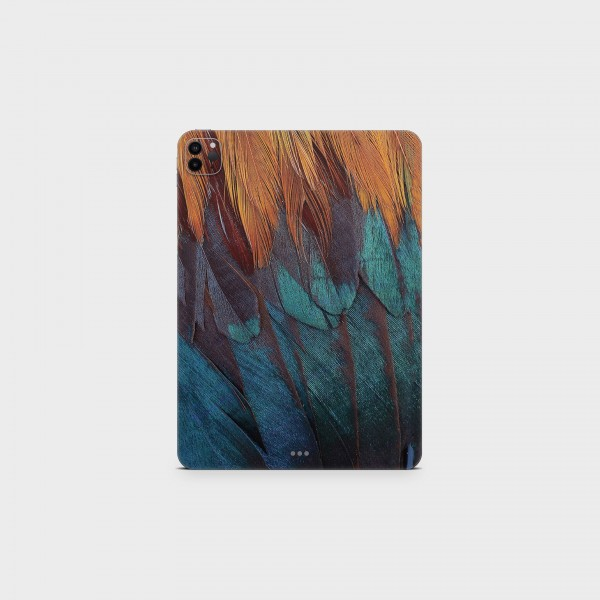 "GREEN MNKY Backcover Skin Tablet 11"" (Struktur Serie) ""Feather Dream"" [3 Stück]"