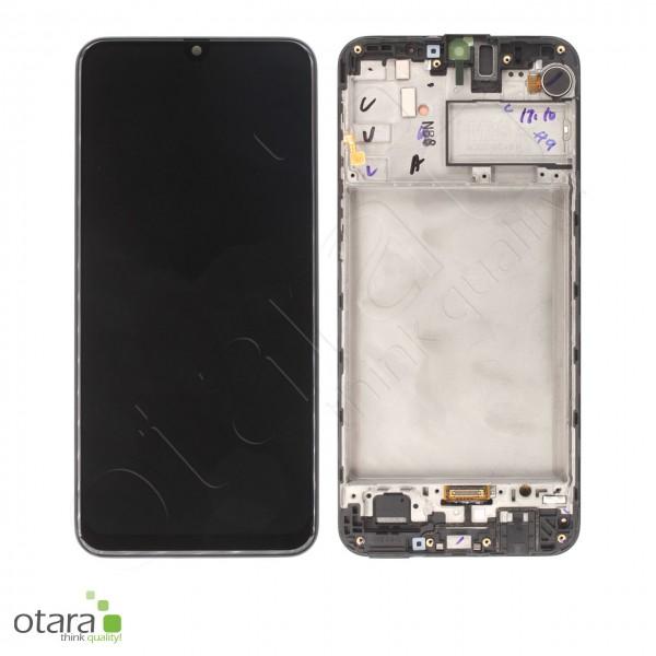 Displayeinheit Samsung Galaxy M30s (M307F), opal black, Serviceware