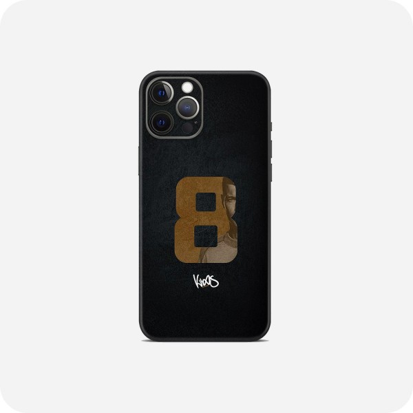 "GREEN MNKY Backcover Skin Smartphone 7"" (Toni Kroos Kollektion) ""Golden 8 Signature"" [3 Stück]"