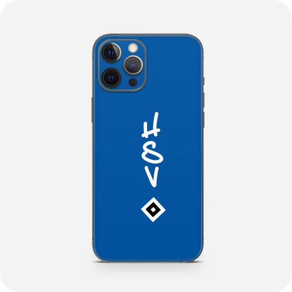 """GREEN MNKY Backcover Skin Smartphone 7"""" (HSV Kollektion) """"HSV Wappen Blue"""" [3 Stück]"""