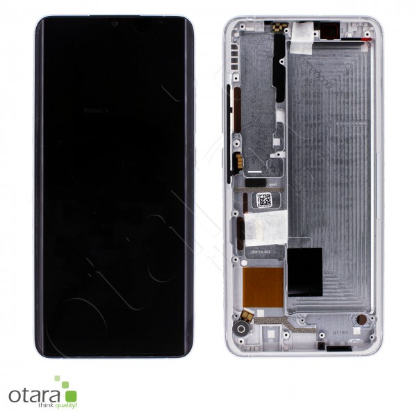 Displayeinheit XIAOMI Mi Note 10 Lite (M2002F4LG), Glacier White, Serviceware