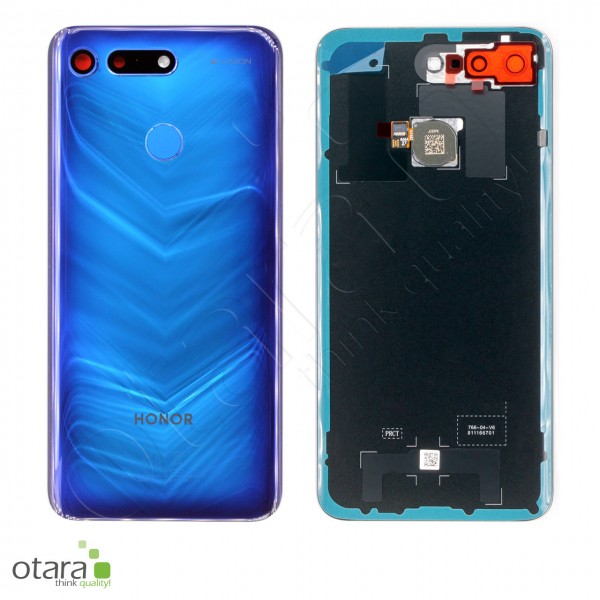 Akkudeckel Huawei Honor View 20, phantom blue, Serviceware