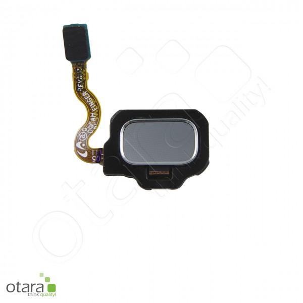 Samsung Galaxy S8/S8 Plus (G950/G955) Fingerabdruck/Fingerprint Sensor, arctic silver, Serviceware