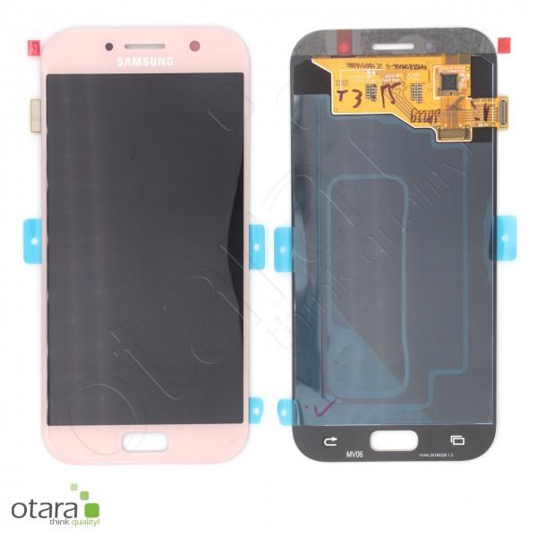 Displayeinheit Samsung Galaxy A5 2017 (A520F), pink/rosa, Serviceware