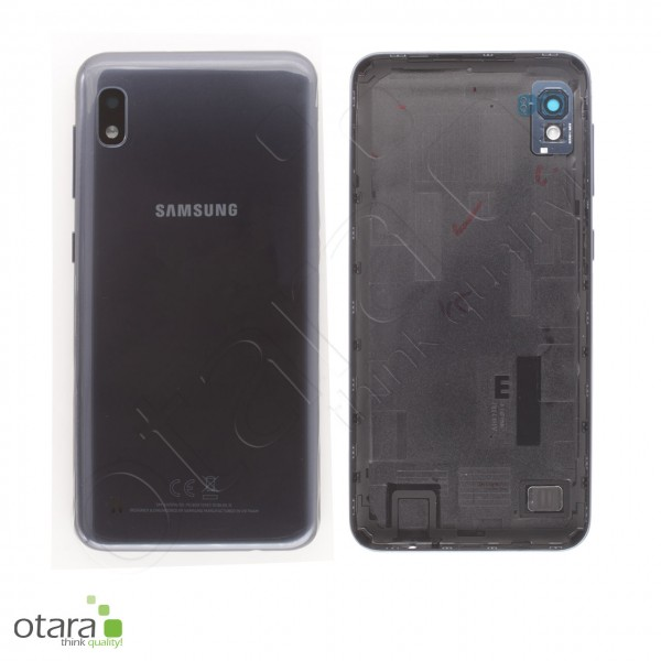 Akkudeckel Samsung Galaxy A10 (A105F), black, Serviceware
