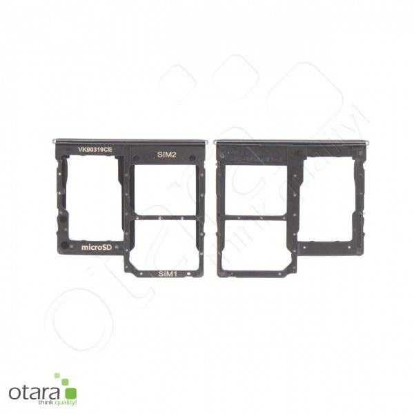 Samsung Galaxy A40 (A405F) SIM + SD Tray Dual, black, Serviceware