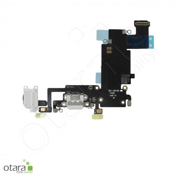 Lade Dock Connector + Audio + Mikrofon Flex geeignet für iPhone 6s Plus, weiß