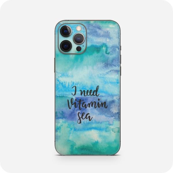 "GREEN MNKY Backcover Skin Smartphone 7"" (Diana Grimm Kollektion) ""I need vitamin sea"" [3 Stück]"
