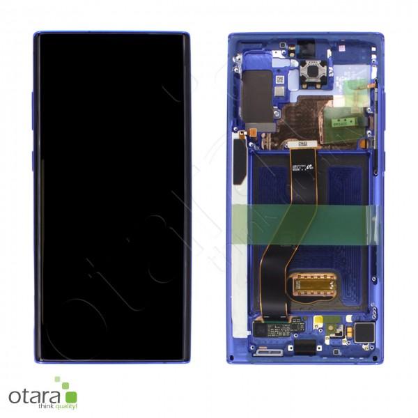 Displayeinheit Samsung Galaxy Note 10 Plus (N975F), 5G (N976B), aura blue, Serviceware