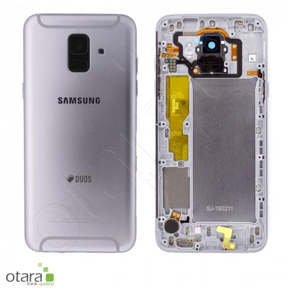 Akkudeckel Samsung Galaxy A6 2018 Duos (A600F), lavender, Serviceware