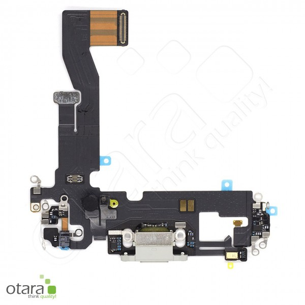 Lade Konnektor Flexkabel geeignet für iPhone 12 Pro (Ori/pulled Qualität), weiß