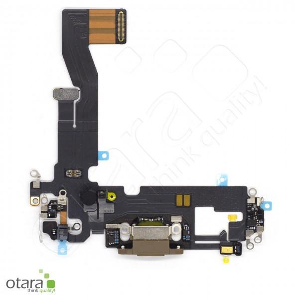 Lade Konnektor Flexkabel geeignet für iPhone 12 Pro (Ori/pulled Qualität), gold
