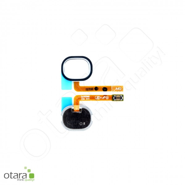 Samsung Galaxy A40 (A405F) Home Button Flex, white, Serviceware