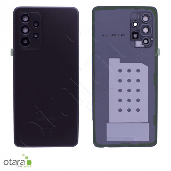 Akkudeckel Samsung Galaxy A52 (A525F,A526B), awesome black, Serviceware