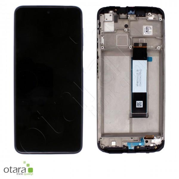 Displayeinheit XIAOMI Redmi 9T (M2010J19SG), Carbon Grey (schwarz), Serviceware
