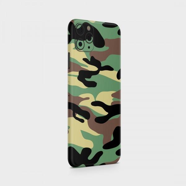 "GREEN MNKY Backcover Skin Smartphone 7"" (Struktur Serie) ""Camouflage Classic"" [3 Stück]"