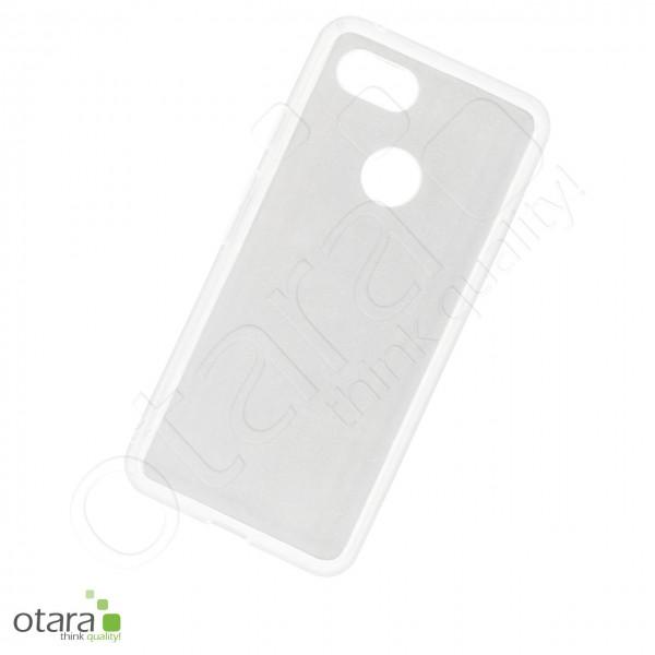 Silikoncase/Schutzhülle für Google Pixel 3, transparent