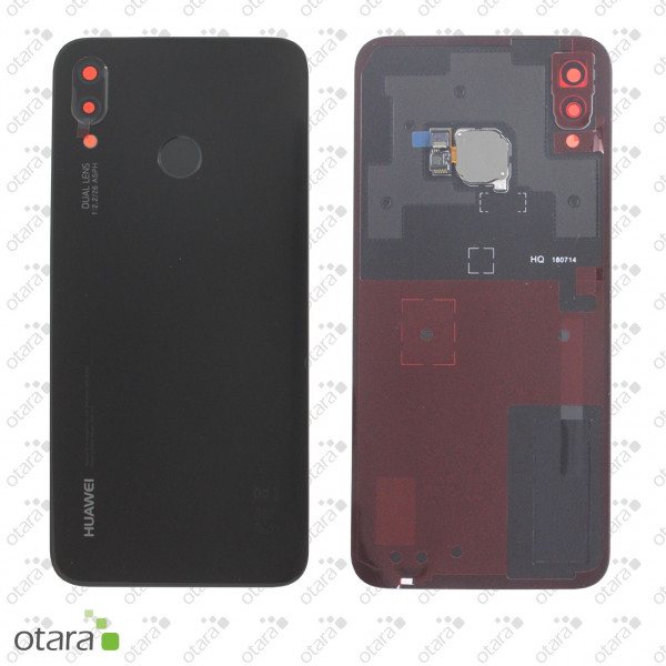 Akkudeckel Huawei P20 Lite, midnight black, Serviceware