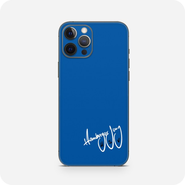 "GREEN MNKY Backcover Skin Smartphone 7"" (HSV Kollektion) ""Hamburger Jung HSV Blue"" [3 Stück]"