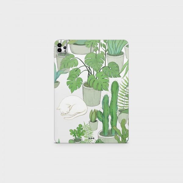 "GREEN MNKY Backcover Skin Tablet 11"" (Struktur Serie) ""Greenery"" [3 Stück]"