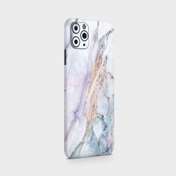 "GREEN MNKY Backcover Skin Smartphone 7"" (Struktur Serie) ""Marmor Irisierend"" [3 Stück]"