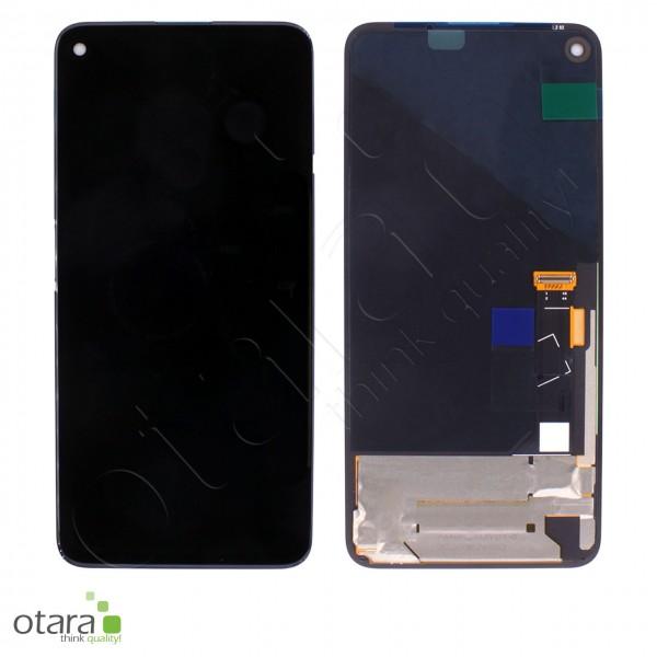 Displayeinheit (ohne Rahmen) Google Pixel 4A 5G (G025I), schwarz, Serviceware