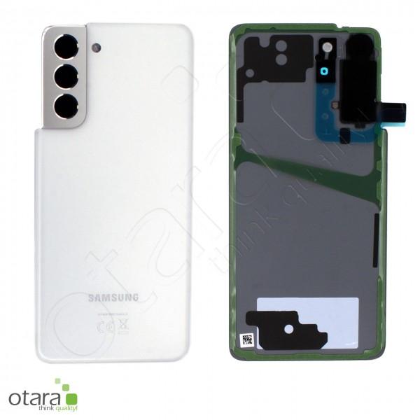 Akkudeckel Samsung Galaxy S21 (G991), phantom white, Serviceware