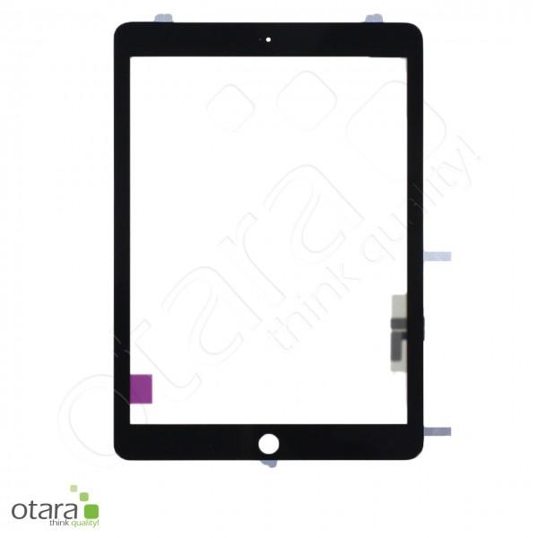 Displayglas geeignet für iPad Air 1 (2013), iPad 5 (9.7|2017) A1822 A1823 (o.HB), schwarz