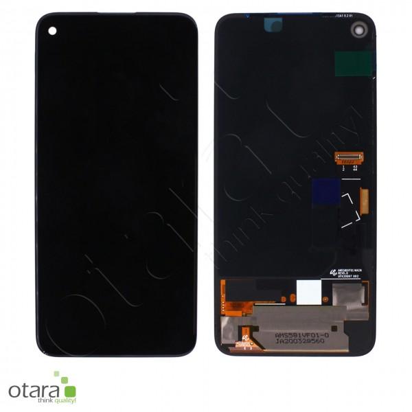 Displayeinheit (ohne Rahmen) Google Pixel 4A 4G (G025N), schwarz, Serviceware