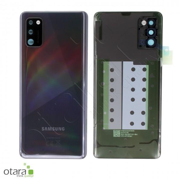 Akkudeckel Samsung Galaxy A41 (A415F), Prism crush black, Serviceware