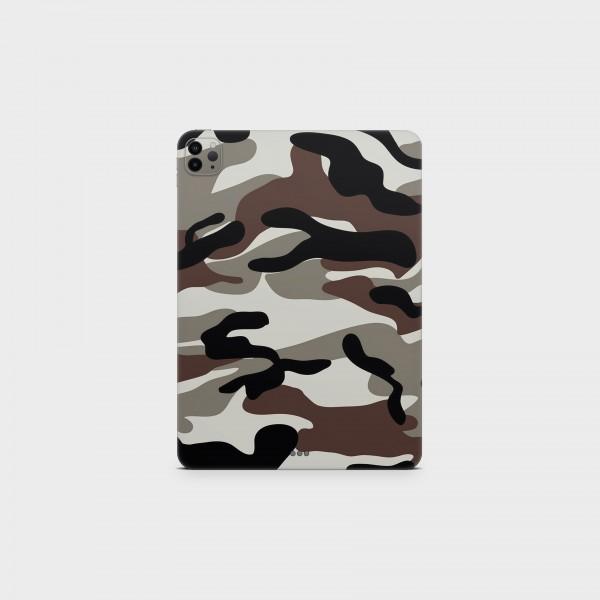 "GREEN MNKY Backcover Skin Tablet 11"" (Struktur Serie) ""Camouflage Earth"" [3 Stück]"