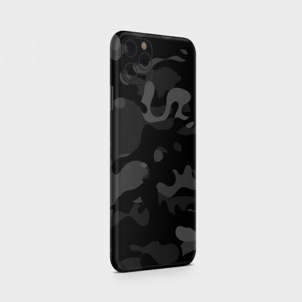 "GREEN MNKY Backcover Skin Smartphone 7"" (Struktur Serie) ""Camouflage Black Mirror"" [3 Stück]"