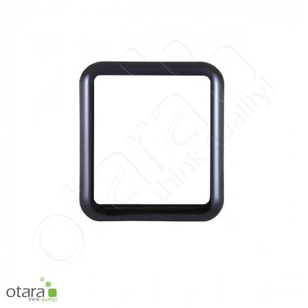 Schutzglas Edge to Edge für Apple Watch (1./2./3.Gen.) 42mm, schwarz