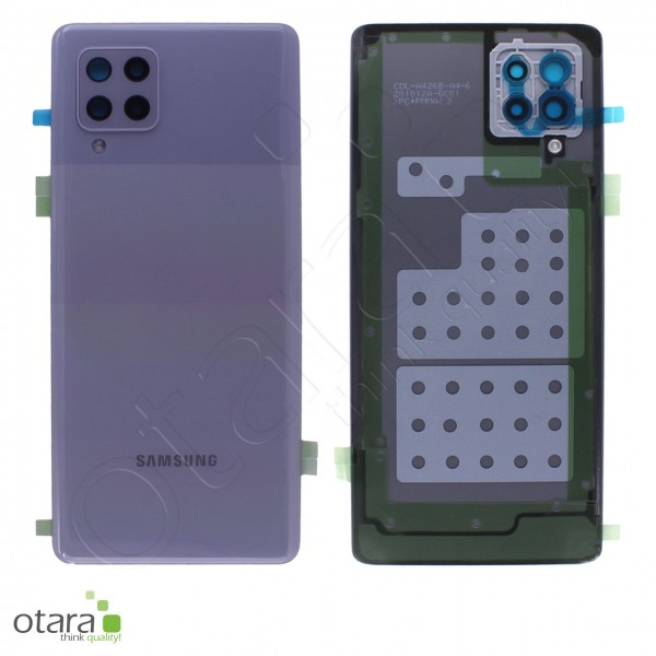 Akkudeckel Samsung Galaxy A42 5G (A426B), prism dot gray, Serviceware