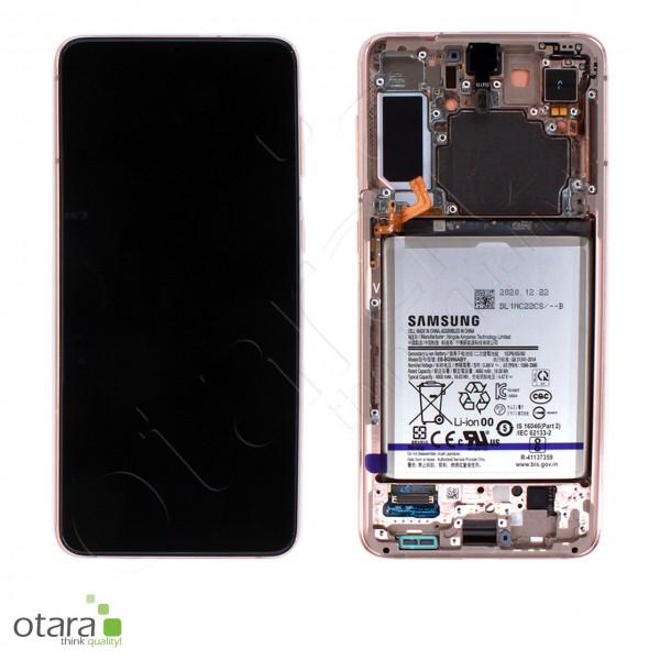 Displayeinheit Samsung Galaxy S21 Plus (G996), inkl. Akku, phantom violet, Serviceware