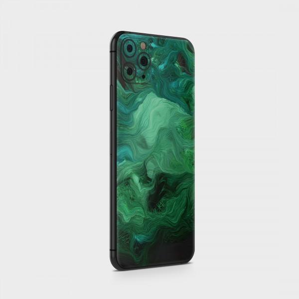 "GREEN MNKY Backcover Skin Smartphone 7"" (Struktur Serie) ""Green Dream"" [3 Stück]"