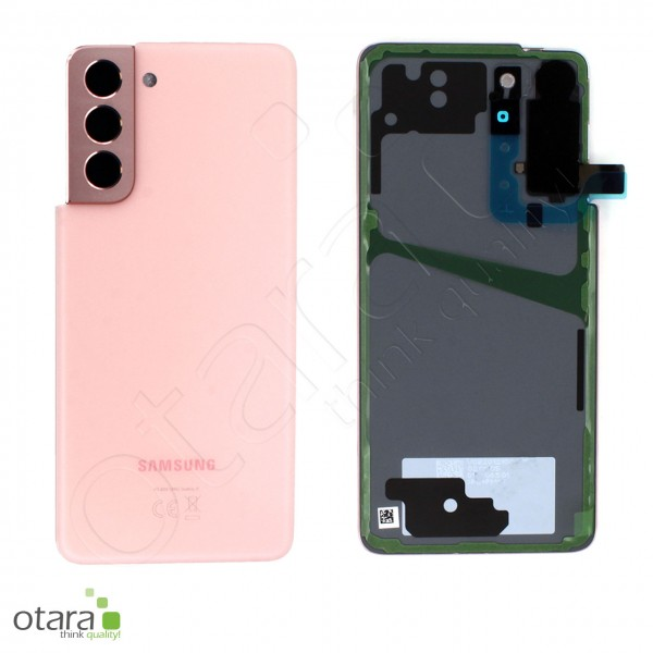 Akkudeckel Samsung Galaxy S21 (G991), phantom pink, Serviceware