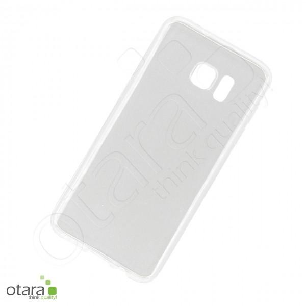 Silikoncase/Schutzhülle für Samsung Galaxy S7 Edge, transparent