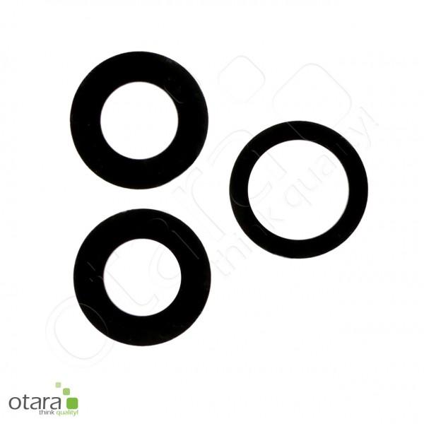 Kameraglas Linse (ohne Rahmen, mit Kleber) geeignet für iPhone 12 Pro [3 Stück]