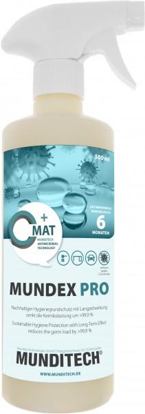 MUNDEX PRO Hygienebeschichtung, 500ml Sprühflasche
