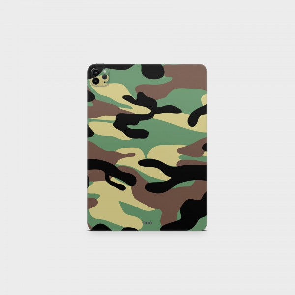 "GREEN MNKY Backcover Skin Tablet 11"" (Struktur Serie) ""Camouflage Classic"" [3 Stück]"