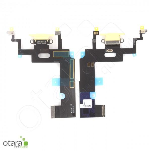 Lade Konnektor Flexkabel geeignet für iPhone XR (Ori/pulled Qualität), gelb