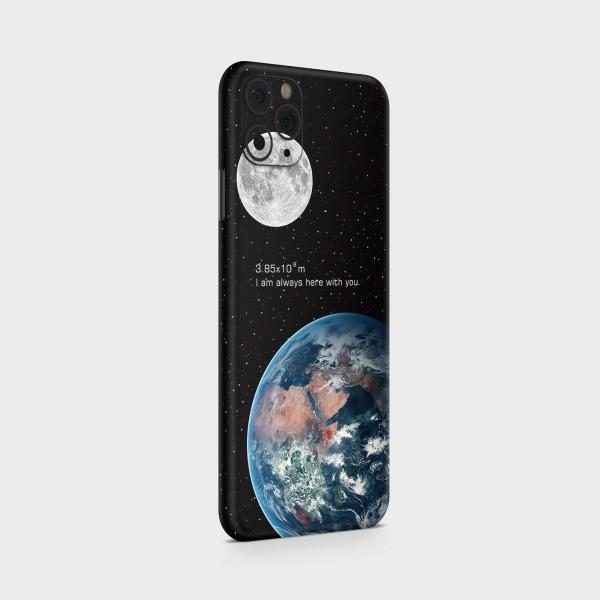 "GREEN MNKY Backcover Skin Smartphone 7"" (Design Serie) ""Earth Moon"" [3 Stück]"