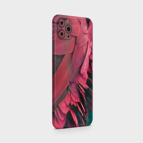 "GREEN MNKY Backcover Skin Smartphone 7"" (Struktur Serie) ""Feather Love"" [3 Stück]"