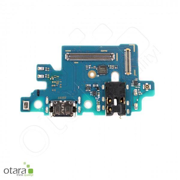 Samsung Galaxy A40 (A405F) Ladebuchse Platine USB-C, Mikrofon, Serviceware
