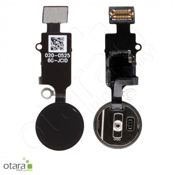 JC V6 3D universal Homebutton geeignet für iPhone 7/7 Plus, 8/8 Plus, schwarz