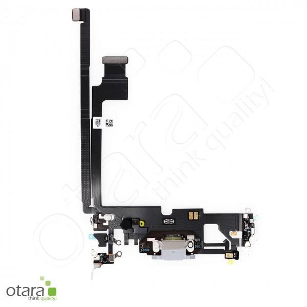 Lade Dock Connector Flex geeignet für iPhone 12 Pro Max (Ori/pulled Qualität), weiß
