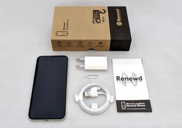 Renewd© Apple iPhone X, 256GB (zert. aufbereitet), weiß