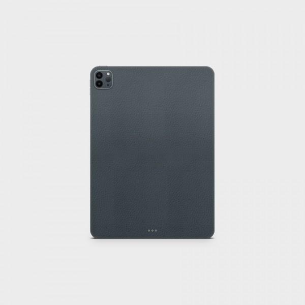 "GREEN MNKY Backcover Skin Tablet 11"" (Struktur Serie) ""Leder Blue"" [3 Stück]"