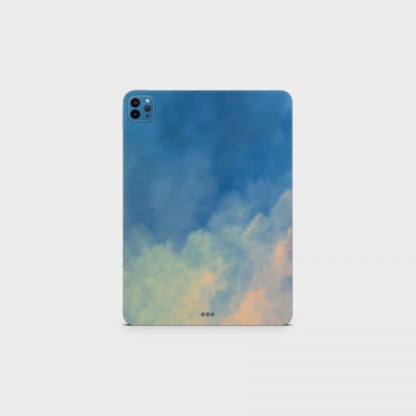 "GREEN MNKY Backcover Skin Tablet 11"" (Design Serie) ""Sunset Clouds"" [3 Stück]"